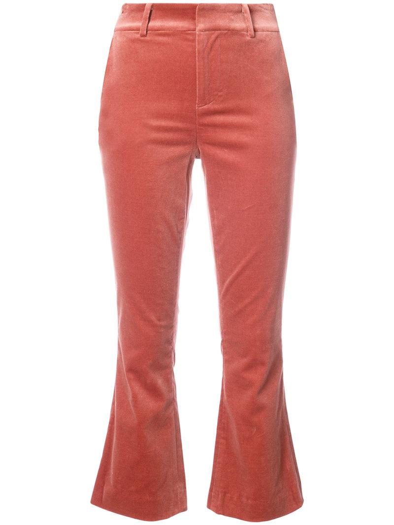 Frame Cropped Tailored Trousers