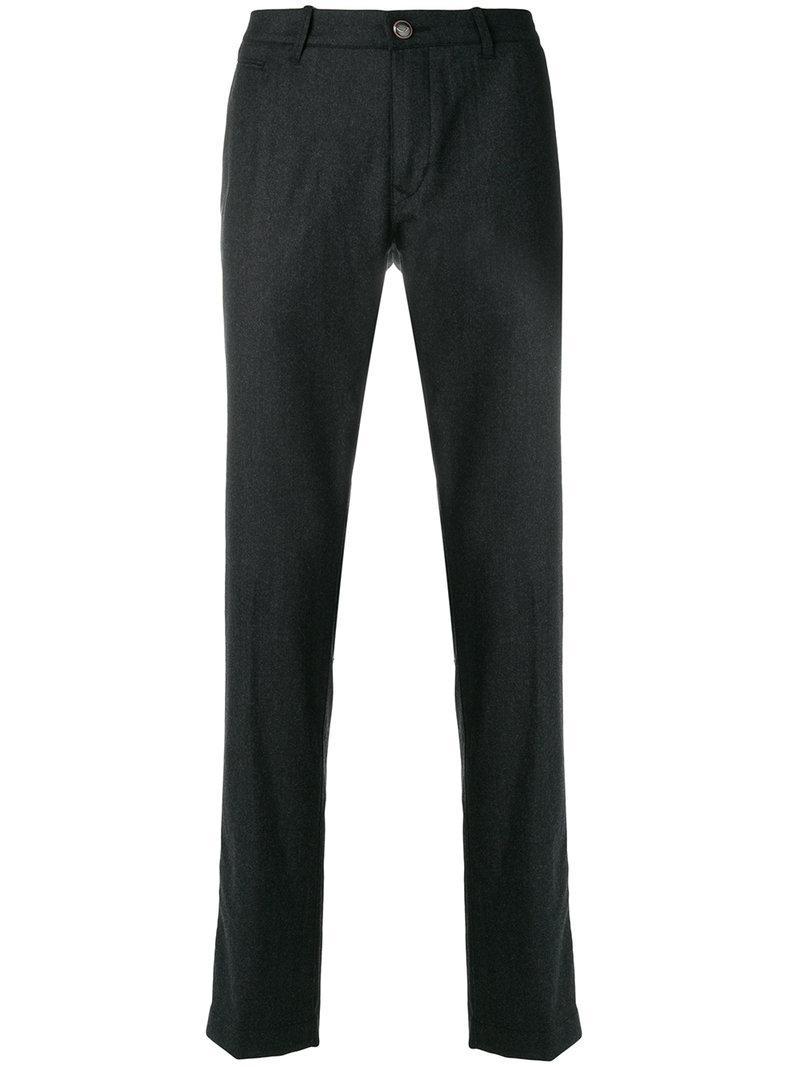 Jacob Cohen Woven Tailored Trousers - Black