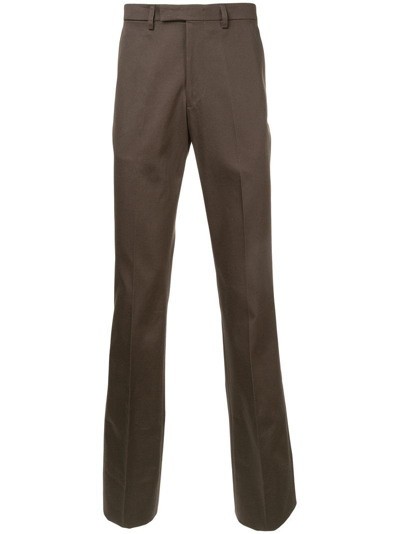 Raf Simons Slim-Fit Trousers - Brown