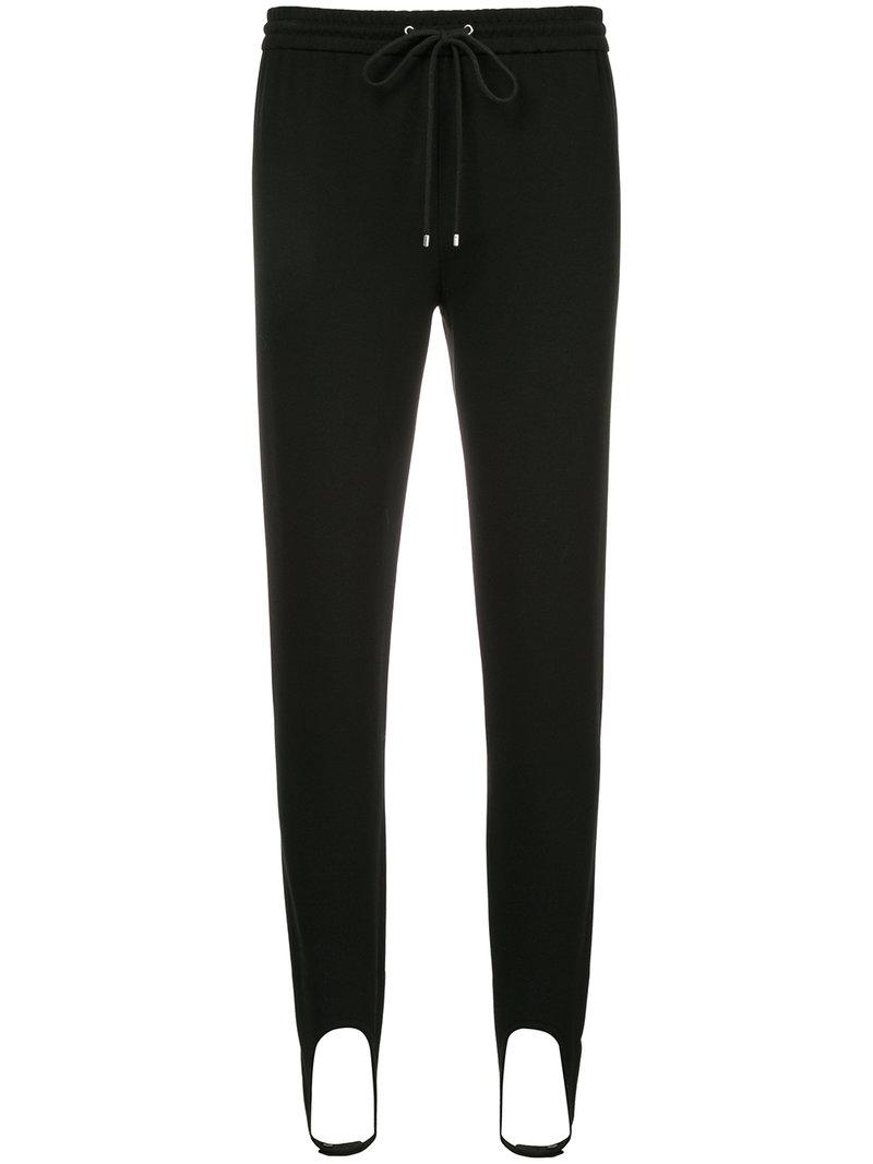 Theory Pull On Stirrup Trousers In Black