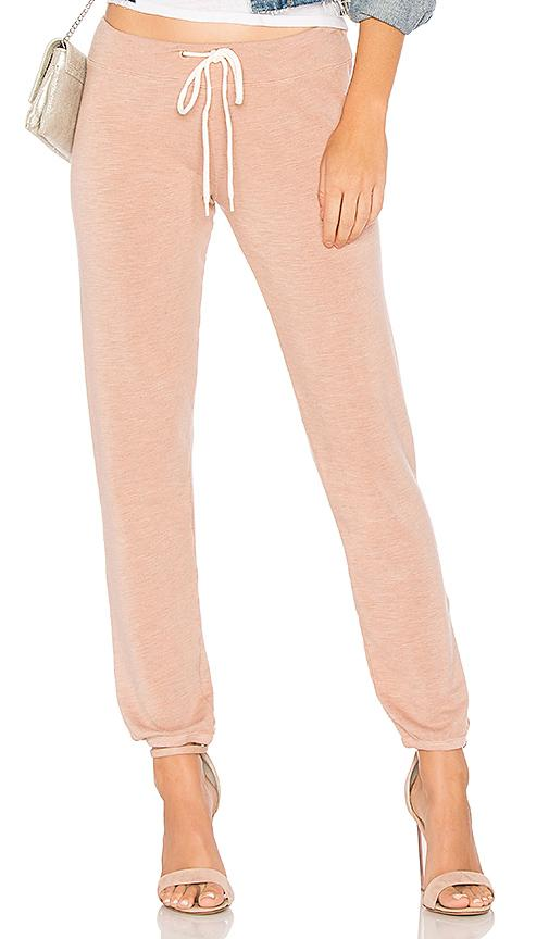 Monrow Supersoft Vintage Sweats In Pink