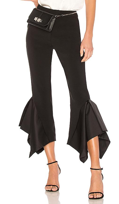 Edit Box Pleat Boy Pants In Black