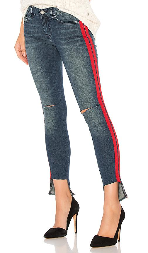 Etienne Marcel Tammy Side Stripe Skinny In Blue Multi