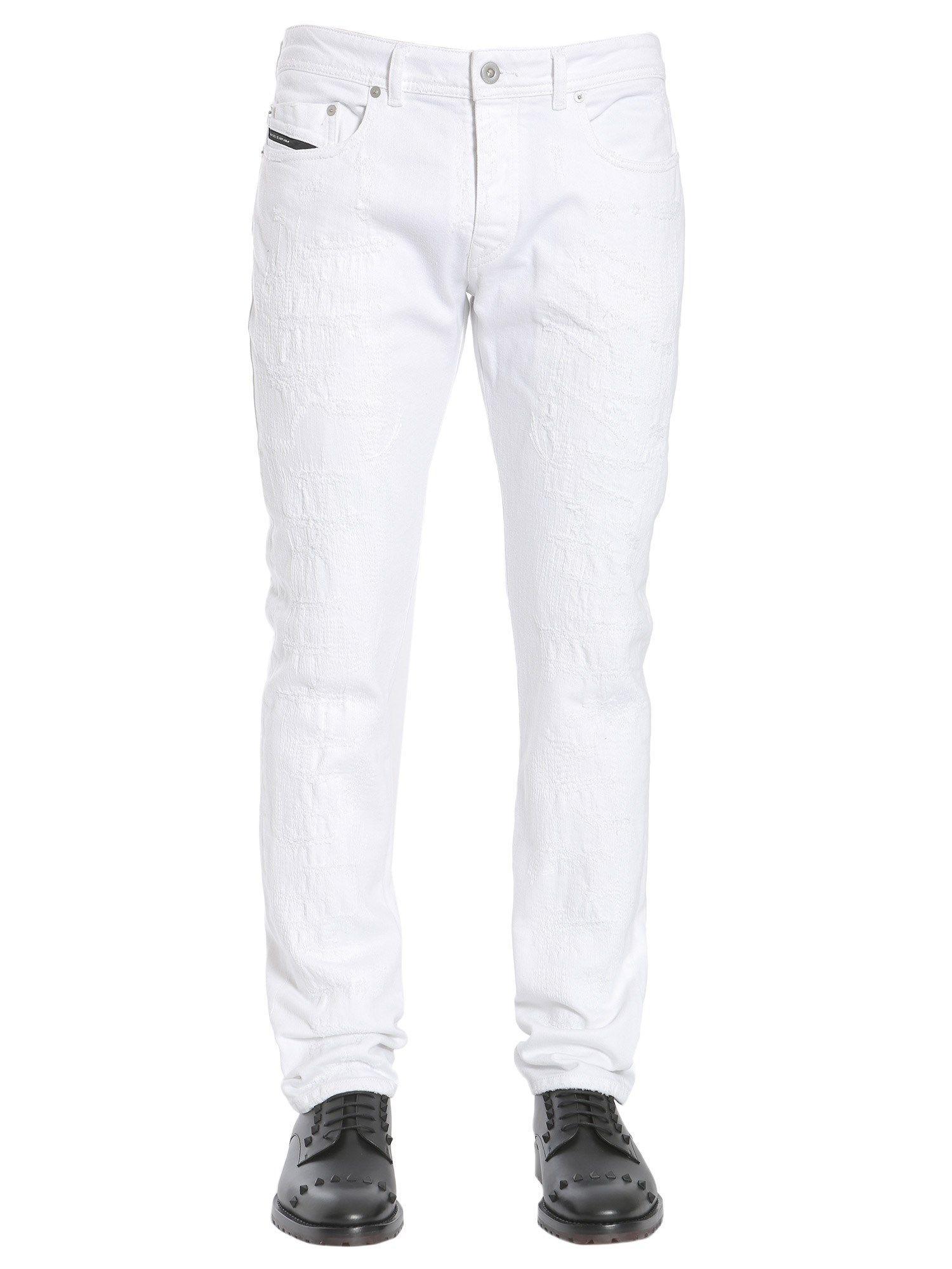 Diesel Black Gold Type-253 Jeans In Bianco