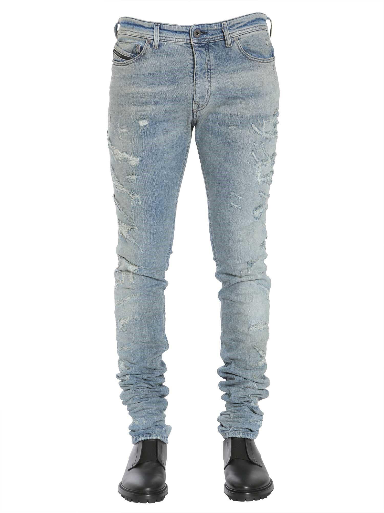 Diesel Black Gold Type-2712 Jeans In Denim