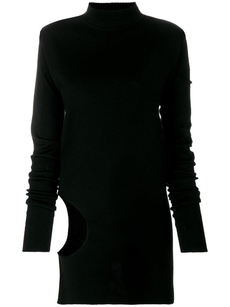Rick Owens Black Subhuman Pullover