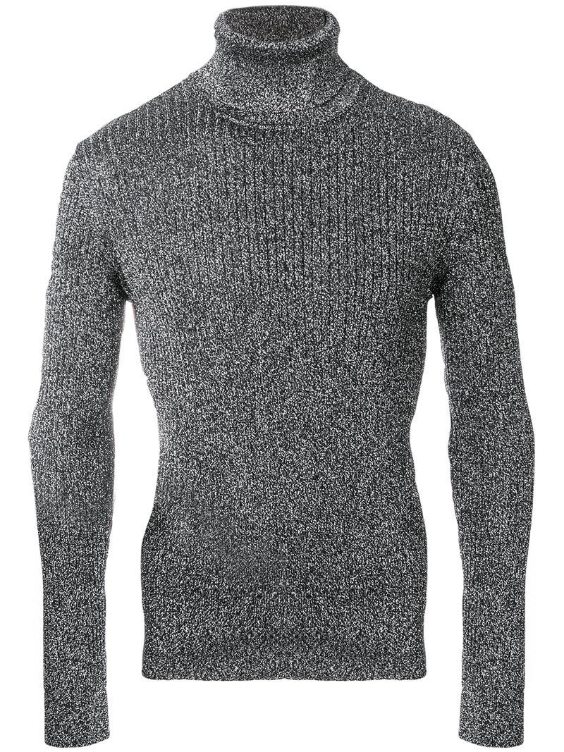 Saint Laurent Lurex Pull Over Jumper