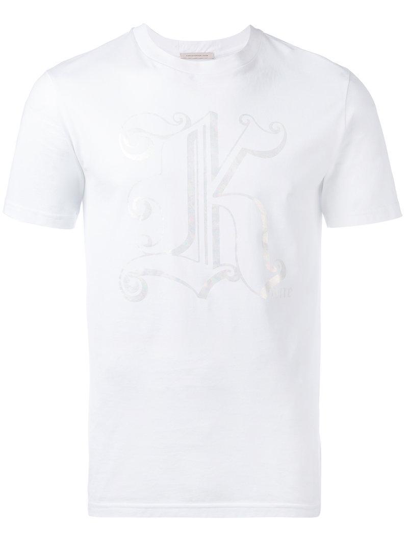 Christopher Kane K Print T-Shirt