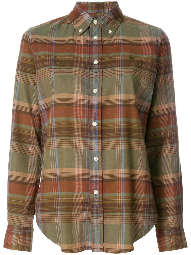 Polo Ralph Lauren Button-Down Check Shirt