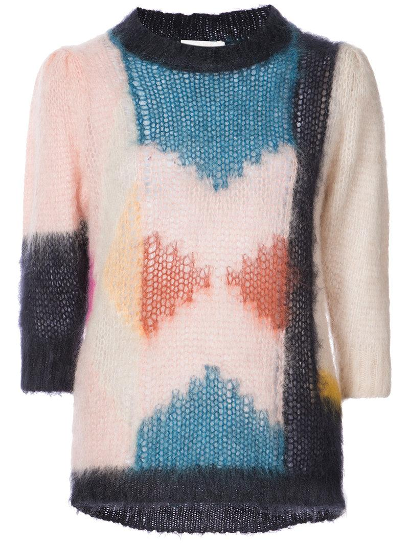 ChloÉ Graphic Print Jumper