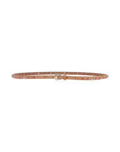Fausto Colato Thin Belt In Brown