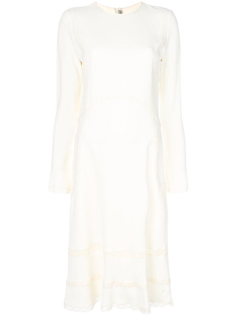 Ermanno Scervino Long Sleeve Dress