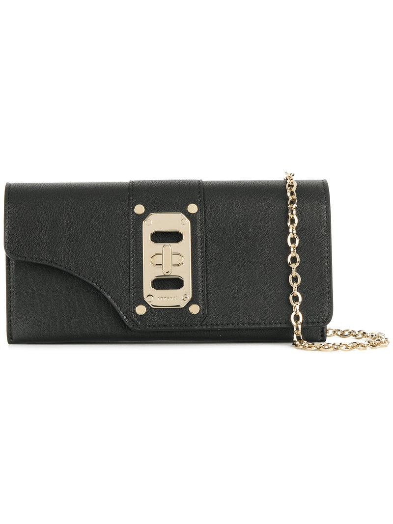 Versace Wallet On Chain - Black
