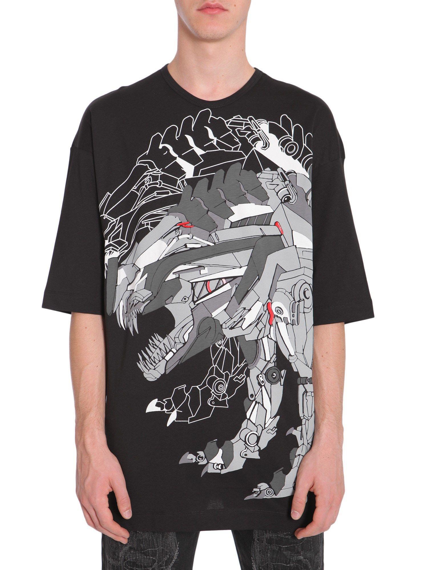 Diesel Black Gold Tikuna-Trans T-Shirt In Nero