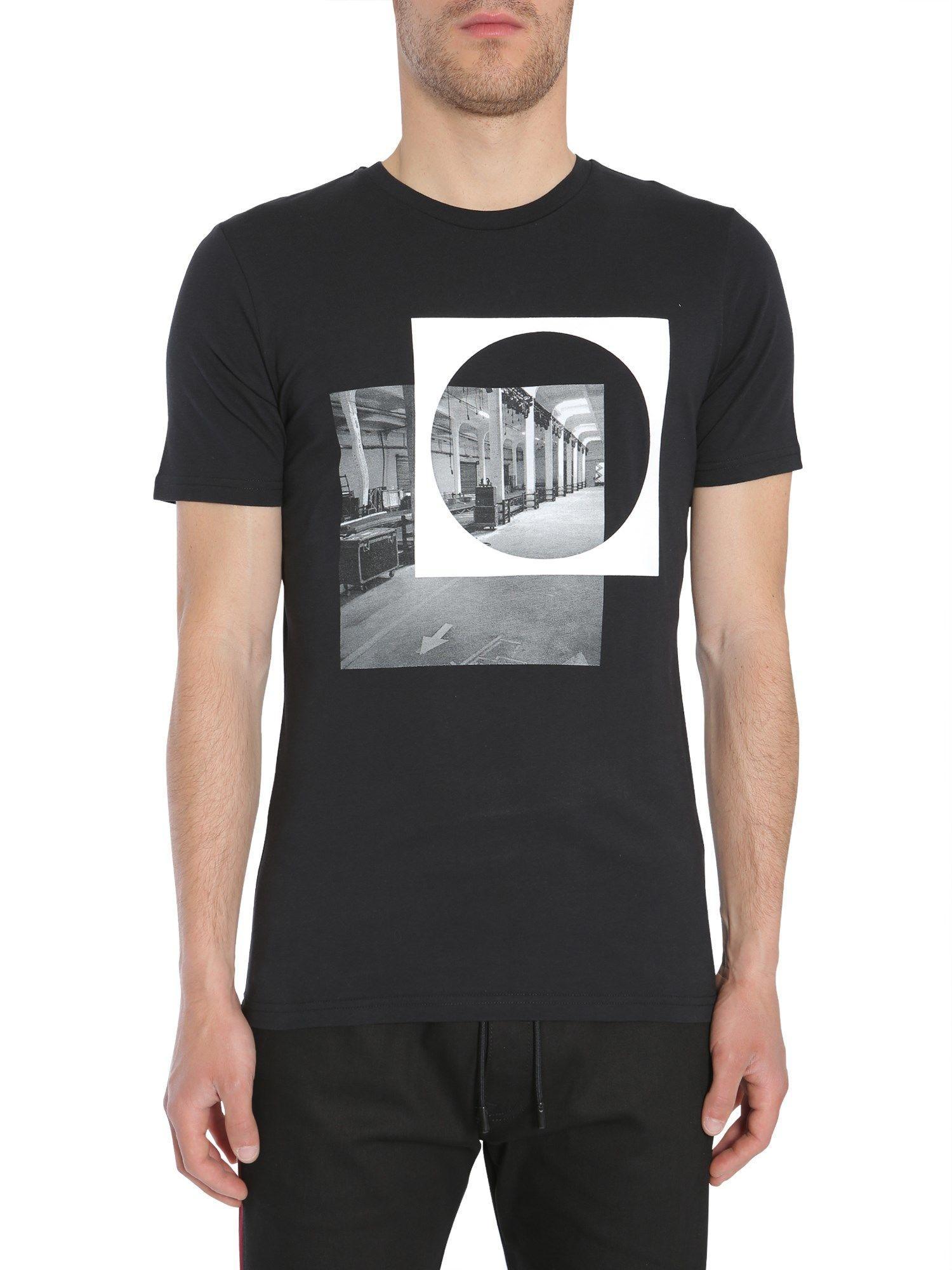 Diesel Black Gold Ty-Indus T-Shirt In Nero