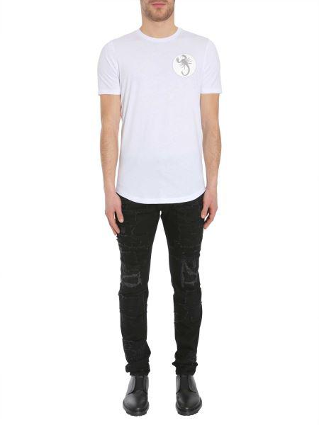 Diesel Black Gold Tyrone-Round-B T-Shirt In White