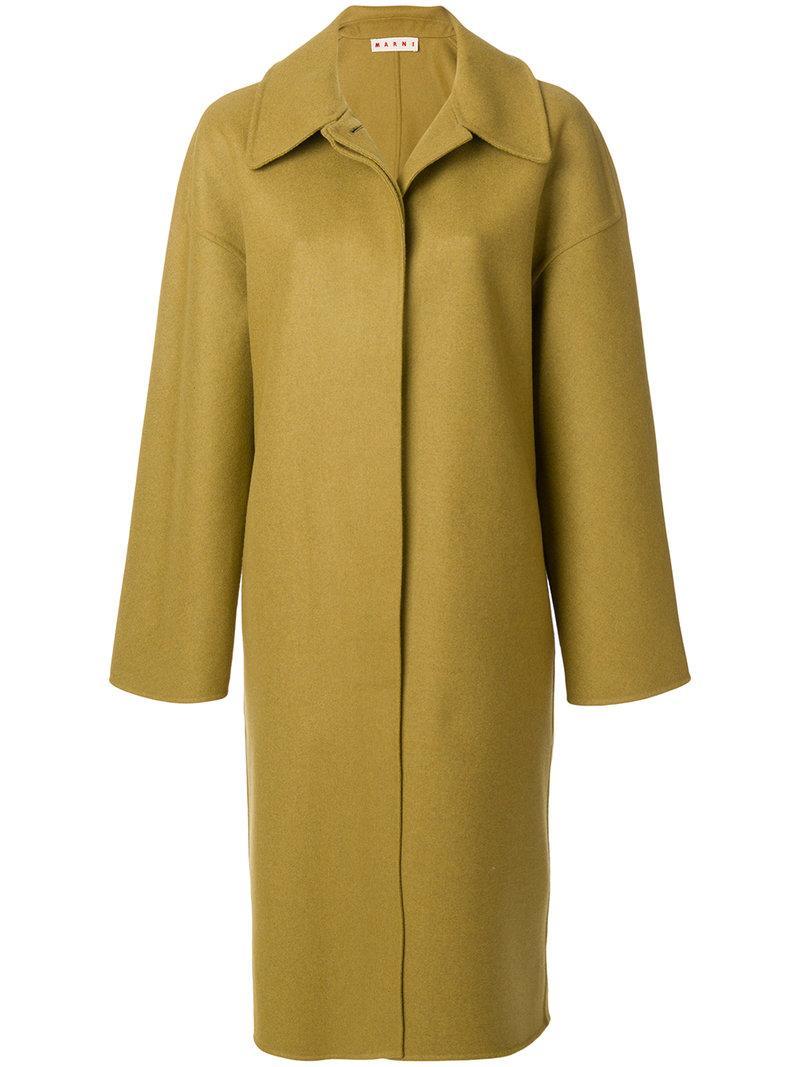 Marni Collared Buttoned Coat
