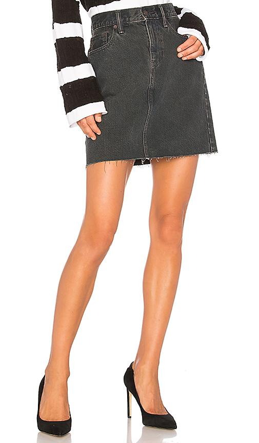 Levi's The Everyday Skirt In Mixed Tape