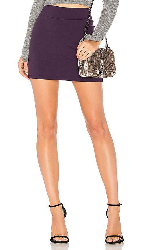 Susana Monaco Slim Skirt In Regal