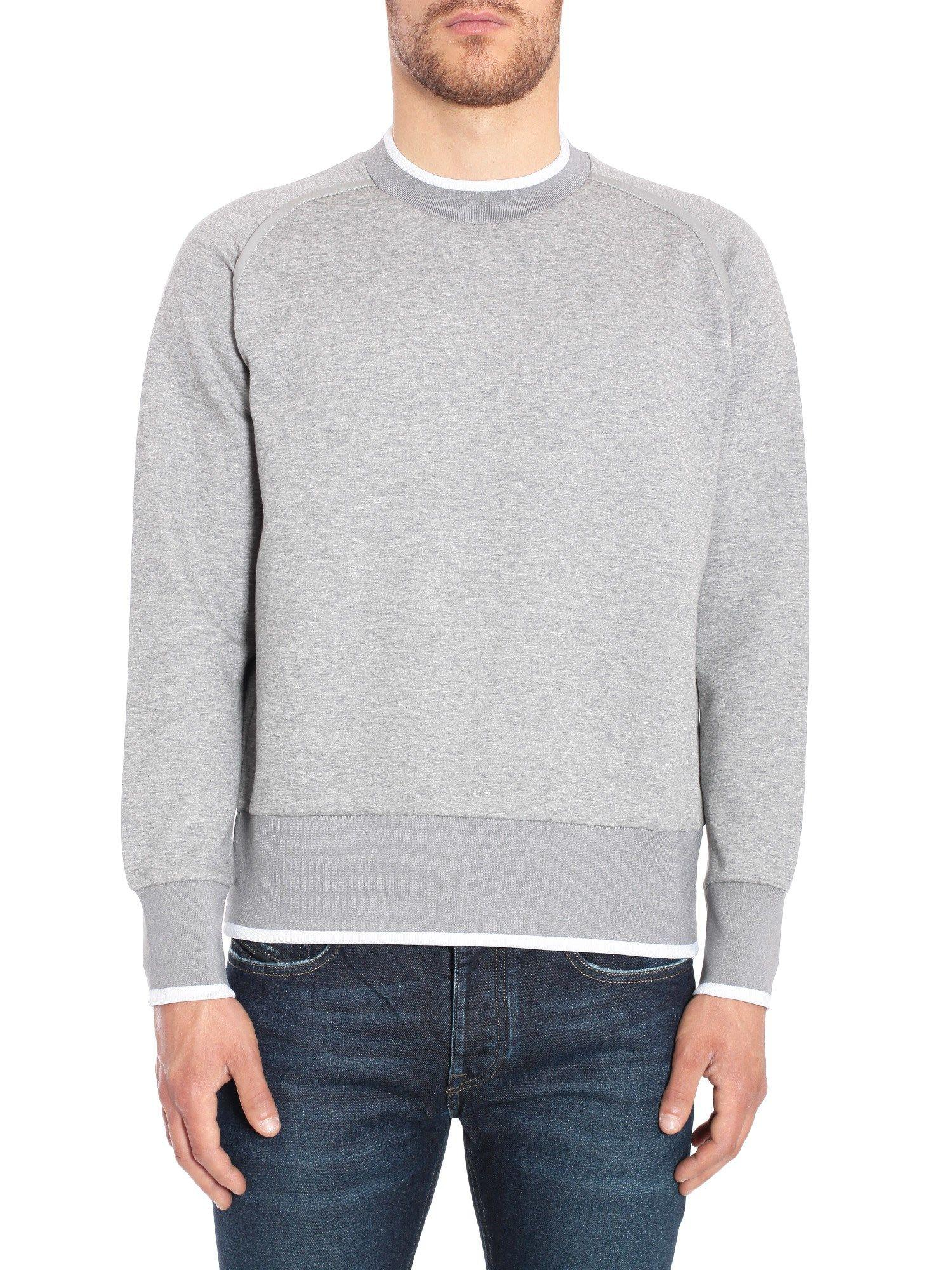 Diesel Black Gold Sokita Sweatshirt In Grigio