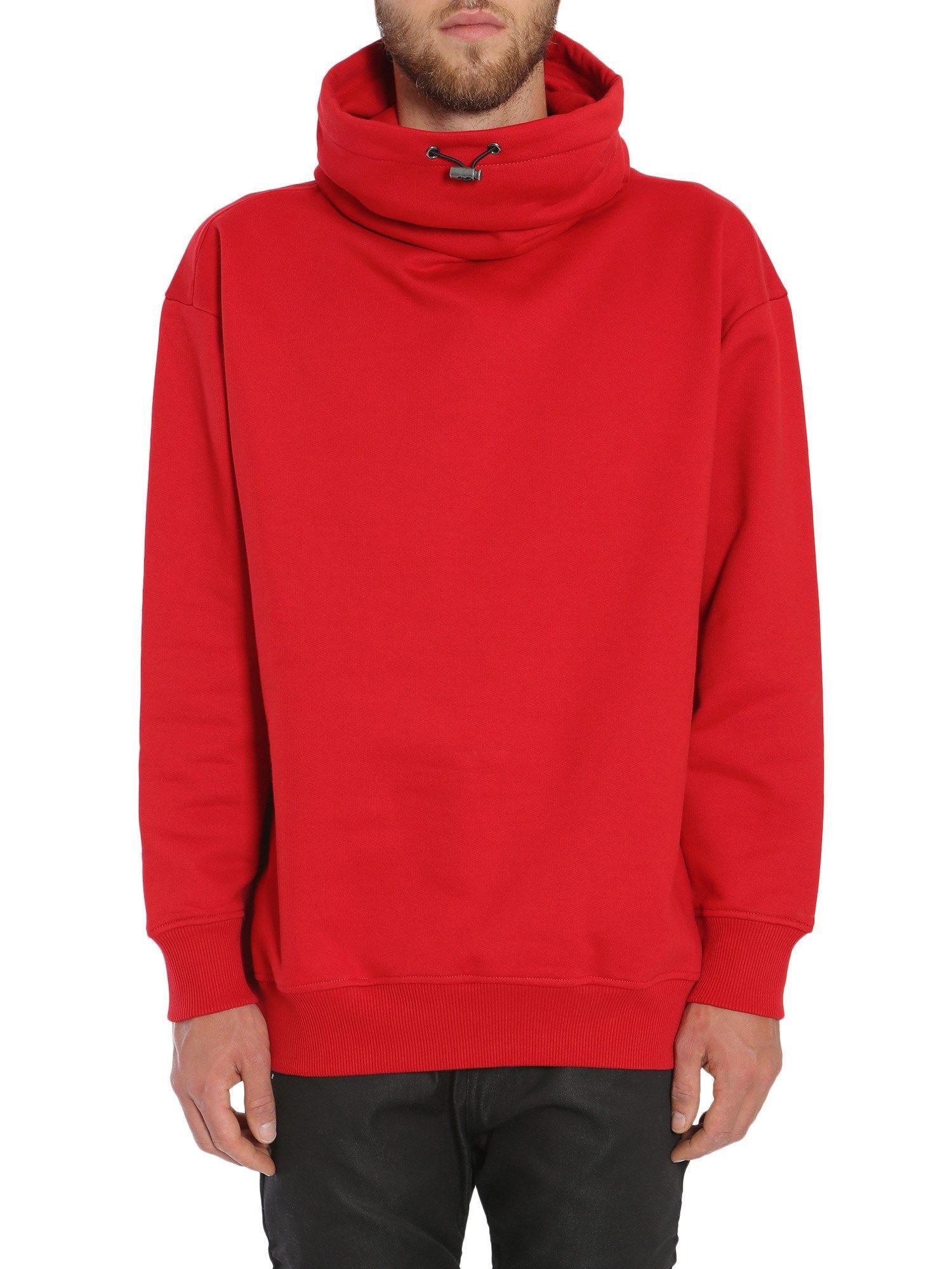 Diesel Black Gold Sollus Sweatshirt In Rosso