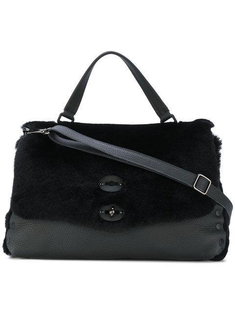 Zanellato Double Latch Tote Bag - Black