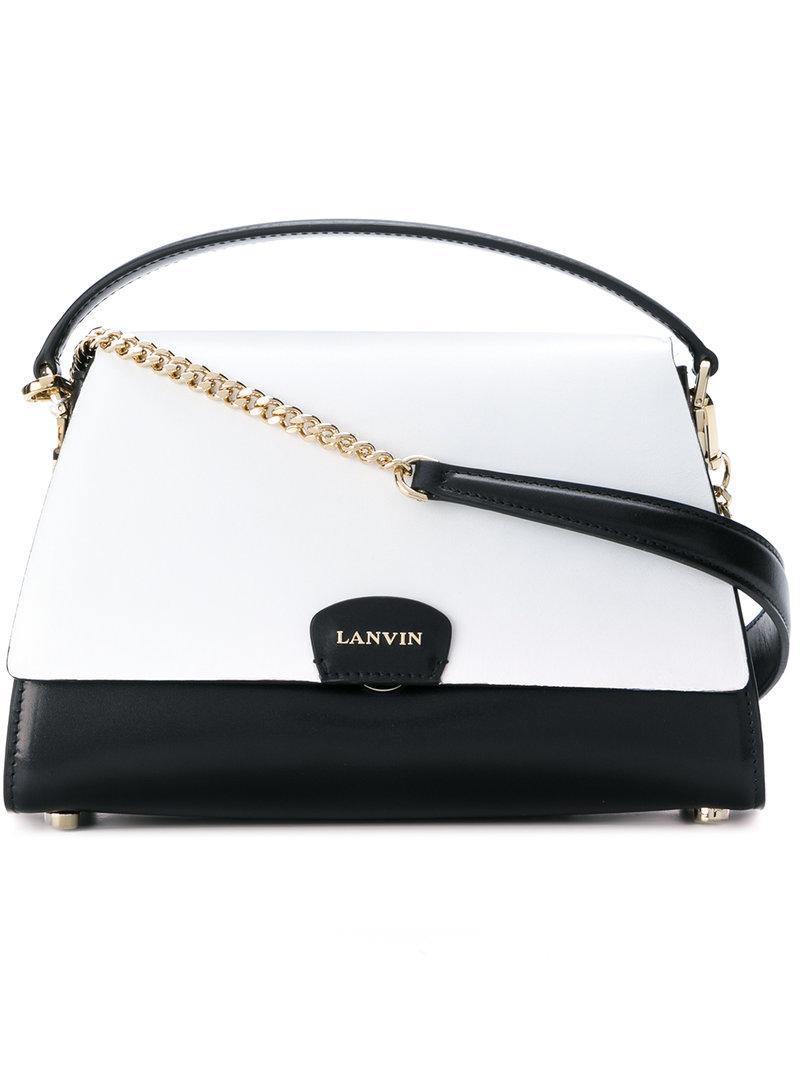 Lanvin Two Tone Mini Bag
