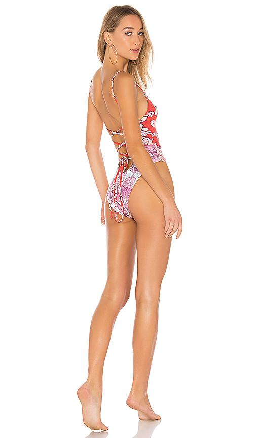 Maaji High Rise One Piece In Red