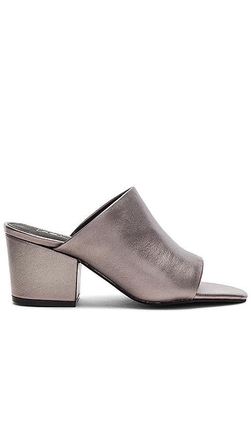 Sol Sana Marcy Mule In Metallic Silver
