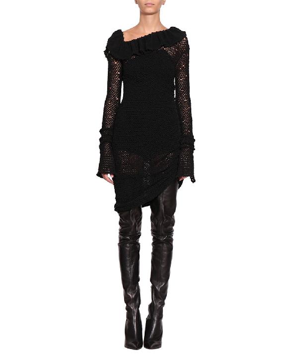 Magda Butrym Belem Dress In Nero