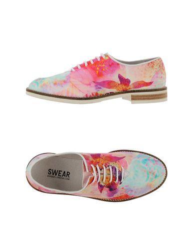 Swear Laced Shoes In Fuchsia