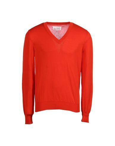 Maison Margiela Sweaters In Orange