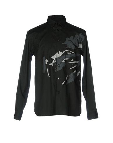 Diesel Black Gold Solid Color Shirt In Dark Green