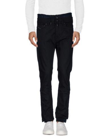 Diesel Black Gold Denim Pants In Black