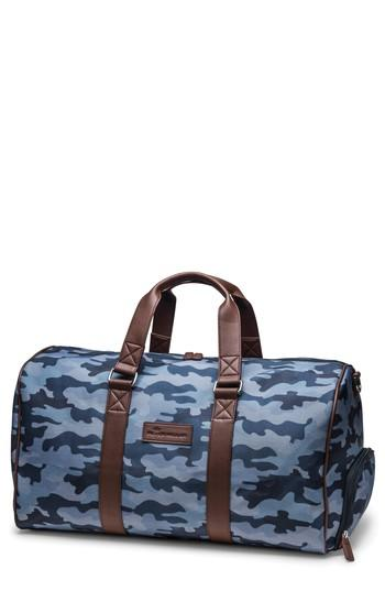 Peter Millar Camo Duffel Bag - Blue In Midnight