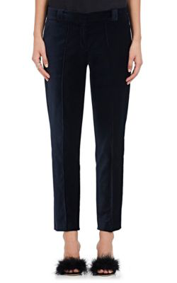 A.L.C Keaton Velvet Pants In Navy