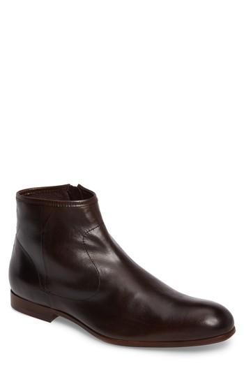 Ted Baker Prugna Zip Boot In Brown Leather