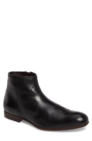 Ted Baker Prugna Zip Boot In Black Leather