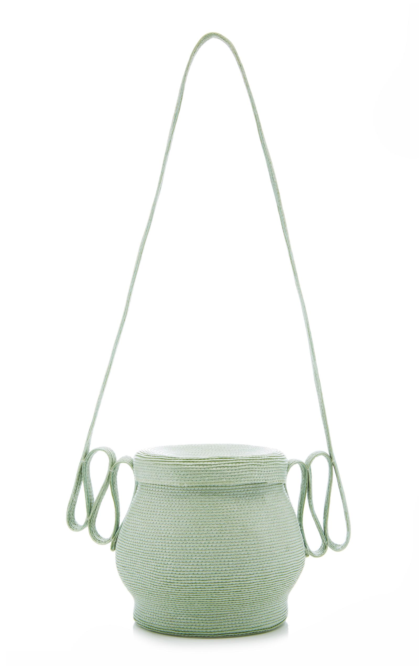 Rosie Assoulin Small Mint Jug Bag In Green