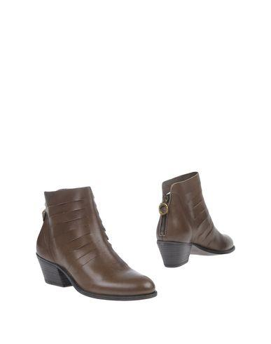 Fiorentini + Baker Ankle Boots In Dark Brown