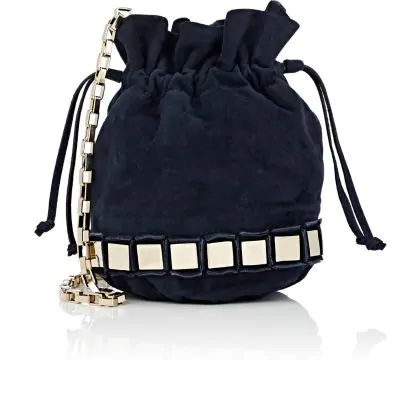 Tomasini Lucile Mini Bucket Bag - Navy