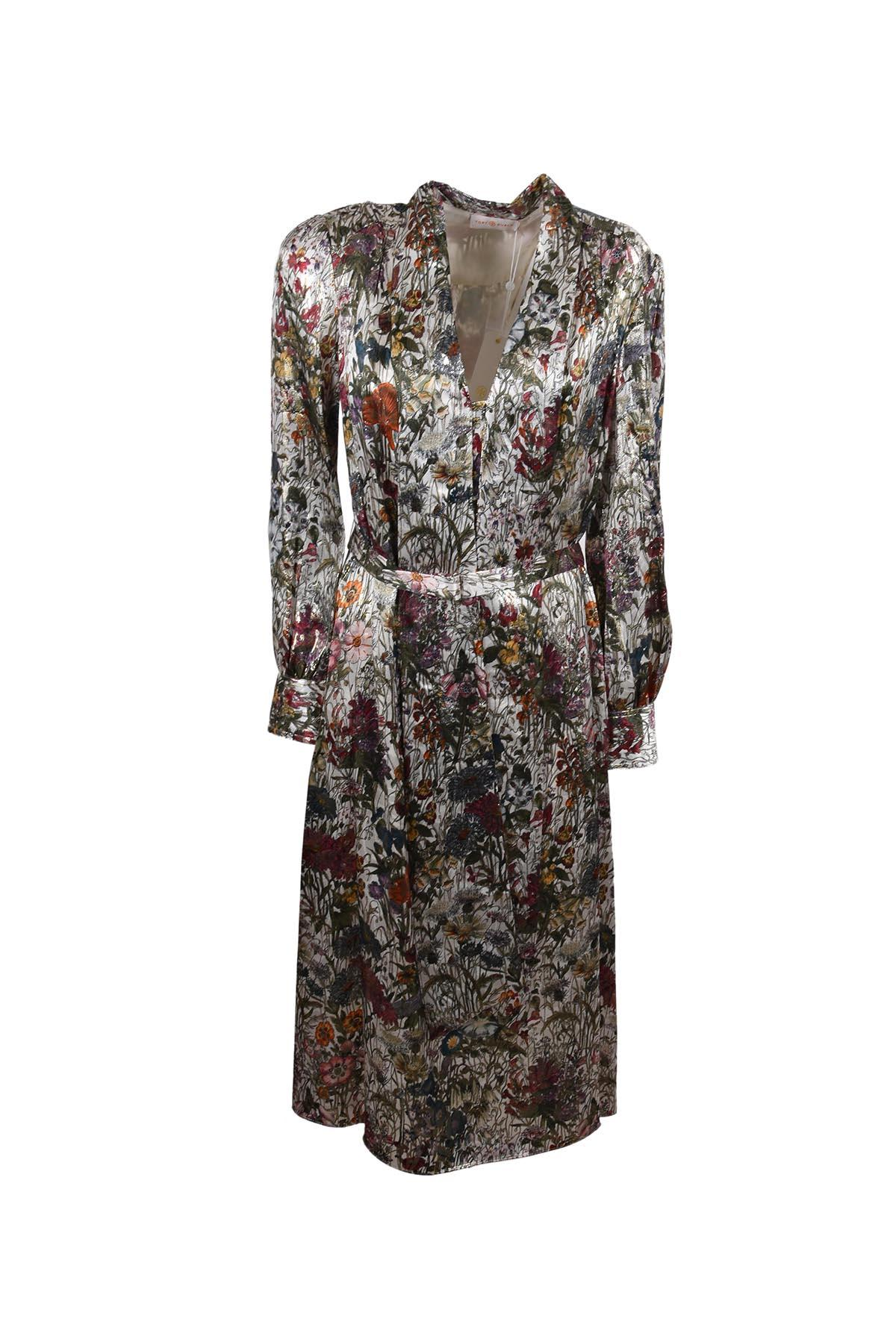 Tory Burch Full Length Jacket In Multicolour