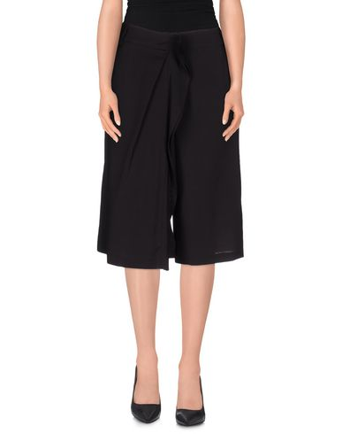 Jil Sander Cropped Pants & Culottes In Dark Brown