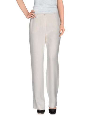 Emporio Armani Casual Pants In White