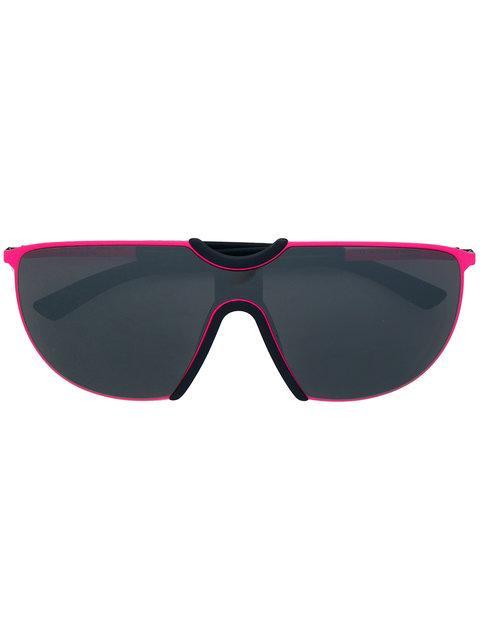 Mykita Aloe Oversized Sunglasses In Purple