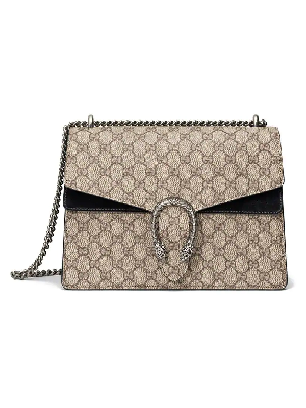 Gucci Medium Dionysus Gg Supreme Shoulder Bag In 9769 Beige