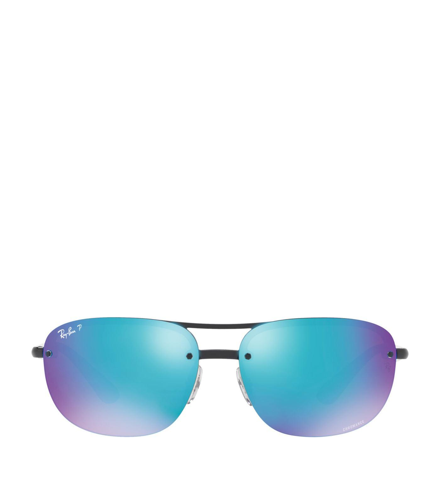 bcd3b97a7 Ray Ban Ray-Ban Man Rb4275Ch - Frame Color: Black, Lens Color: Blue ...