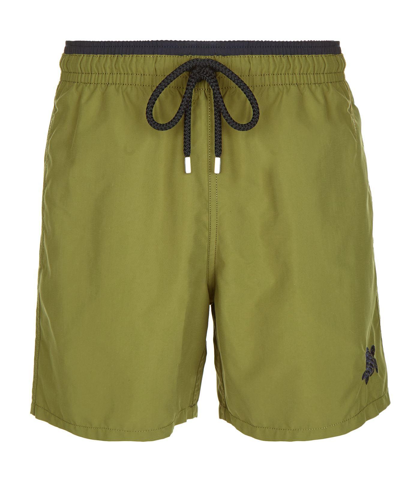 Vilebrequin Moka Swim Shorts In Green