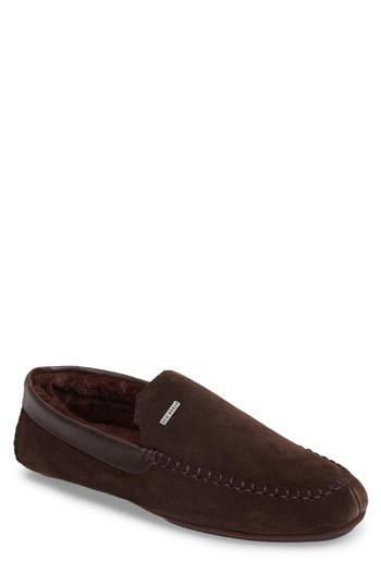 9821813b9595b1 Ted Baker Men s Moriss Suede Moccasin Loafers In Brown Suede