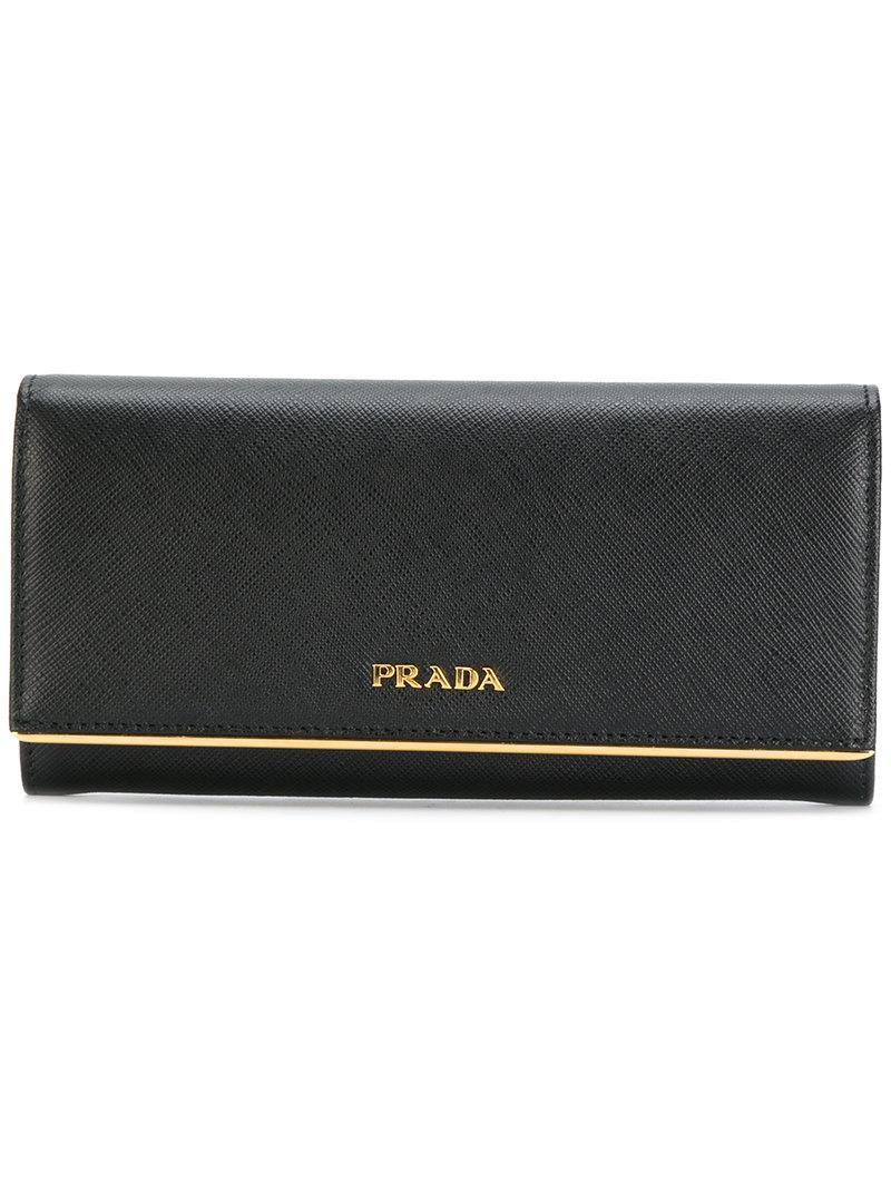 604699924997 Prada Classic Continental Wallet   ModeSens
